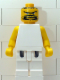 Minifig No: nba051  Name: NBA  Player White Torso, White Legs #2