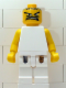 Minifig No: nba053  Name: NBA  Player White Torso, White Legs #4