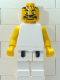Minifig No: nba054  Name: NBA  Player White Torso, White Legs #5