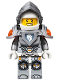 Minifig No: nex001  Name: Lance - Flat Silver Visor and Armor