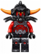 Minifig No: nex005  Name: Ash Attacker - Orange Horns