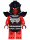 Minifig No: nex043  Name: Crust Smasher - Torso with Scaled Armor