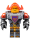 Minifig No: nex069  Name: Axl - Trans-Neon Orange Visor