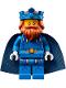 Minifig No: nex100  Name: King Halbert - Blue Crown and Robes