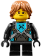 Minifig No: nex101  Name: Robin Underwood - Hair, without Shoulder Armor