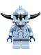 Minifig No: nex108  Name: Stone Monster - Short Legs, Spiked Headgear