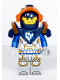 Minifig No: nex117  Name: Clay, Dark Blue Armor (5004914)