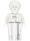 Minifig No: nex121  Name: White Stone Statue