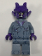 Minifig No: nex123  Name: Stone Stomper - Dark Purple Cracks