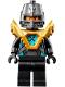 Minifig No: nex135  Name: Robin - Pearl Gold Armor