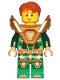 Minifig No: nex144  Name: Aaron - Pearl Gold Armor, Hair (271825)