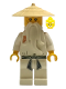 Minifig No: njo002  Name: Sensei Wu - The Golden Weapons