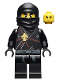 Minifig No: njo006  Name: Cole - The Golden Weapons