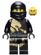 Minifig No: njo015  Name: Cole DX (Dragon eXtreme Suit) - The Golden Weapons