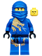 Minifig No: njo016  Name: Jay DX (Dragon eXtreme Suit) - The Golden Weapons