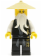 Minifig No: njo026  Name: Sensei Wu (Black Outfit) - The Golden Weapons