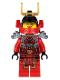 Minifig No: njo105  Name: Samurai X (Nya) - Rebooted