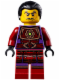 Minifig No: njo112  Name: Clouse (Hair) - Tournament of Elements