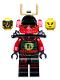 Minifig No: njo132  Name: Samurai X (Nya) - Tournament of Elements