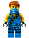 Minifig No: njo137  Name: Jay - Sleeveless with Bandana