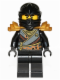 Minifig No: njo139  Name: Cole - Rebooted with Armor