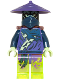 Minifig No: njo145  Name: Ghost Warrior Pitch