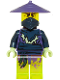 Minifig No: njo156  Name: Ghost Warrior Cowler (Scabbard)