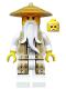 Minifig No: njo168  Name: Sensei Wu (Gold and Tan Outfit)