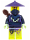 Minifig No: njo182  Name: Ghost Warrior Ghurka