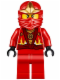 Minifig No: njo205  Name: Kai - Rebooted with ZX Hood (10722)