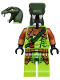 Minifig No: njo217  Name: Zoltar - Snake Villain (10725)