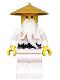 Minifig No: njo225  Name: Sensei Wu - Pearl Gold Hat