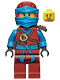 Minifig No: njo227  Name: Nya - Dark Red Wrap