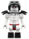 Minifig No: njo244  Name: Frakjaw - with Black Armor, Aviator Cap and Goggles