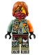 Minifig No: njo246  Name: Ronin - Hair, Scabbard