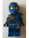 Minifig No: njo258  Name: Jay - Dark Blue Wrap
