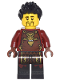 Minifig No: njo289  Name: Ray, Dragon Head Emblem
