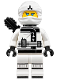 Minifig No: njo318  Name: Zane - The LEGO Ninjago Movie, Black Quiver
