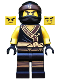 Minifig No: njo322  Name: Cole - The LEGO Ninjago Movie, Arms with Cuffs (70618)