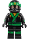 Minifig No: njo339  Name: Green Ninja Suit (70620)
