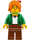Minifig No: njo340  Name: Misako (Koko) - The LEGO Ninjago Movie