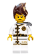 Minifig No: njo346  Name: Kai - White Wu-Cru Training Gi