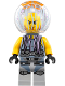 Minifig No: njo352  Name: Jelly - Dark Red Beard, Dark Bluish Gray Neck Bracket, Trans-Medium Blue Round Plate