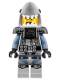 Minifig No: njo361  Name: Shark Army Great White - Scuba Suit, Airtanks (70609,70613)