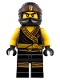 Minifig No: njo363  Name: Cole - The LEGO Ninjago Movie (70609)