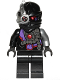 Minifig No: njo375  Name: Nindroid - Black Wrap