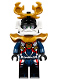 Minifig No: njo390  Name: Samurai X (P.I.X.A.L.) - Sons of Garmadon / Hunted