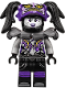 Minifig No: njo397  Name: Ultra Violet (Oni Mask of Hatred)