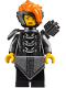 Minifig No: njo412  Name: Misako (Koko) (Lady Iron Dragon) - The LEGO Ninjago Movie