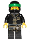 Minifig No: njo425  Name: Lloyd - Black Wu-Cru Training Gi, Head Wrap